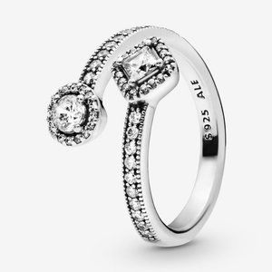 🍓Pandora Heart-Shaped Padlock Ring